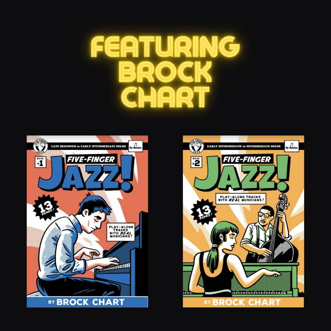 Brock Chart 5-Finger Jazz Books
