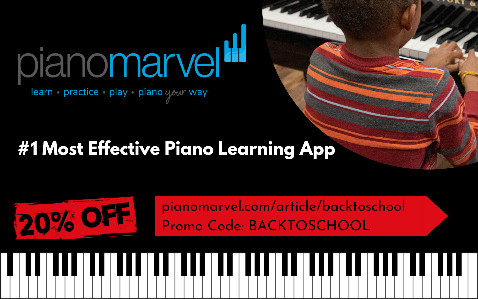 Piano Marvel Back to School Sale