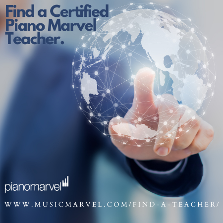 Find A Piano Marvel Teacher