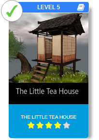 The Little Tree House, easy version.