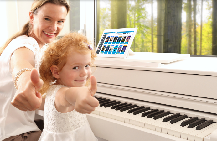Piano Marvel app, Thumbs Up, Piano Teaching app