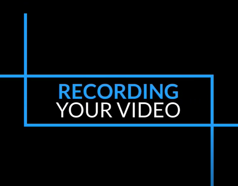 Recording Your Video YouTube Video Screen Capture