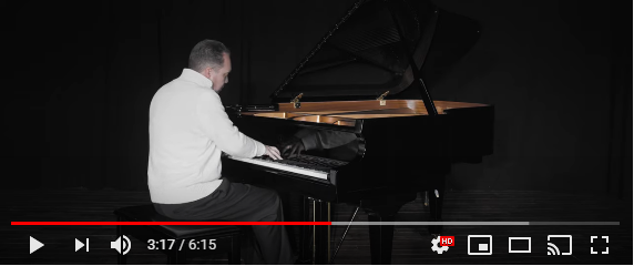 Stage piano performance