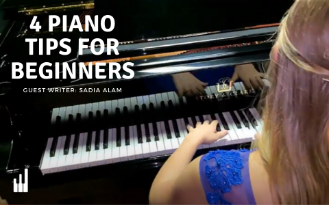 4 Piano Tips for Beginners