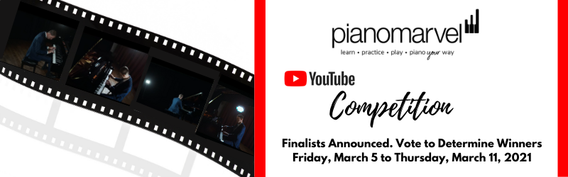 YouTube Competition Finalists Selected