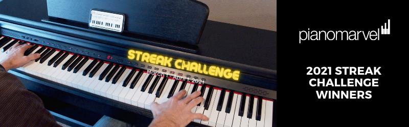 2021 Streak Challenge Winners Announced