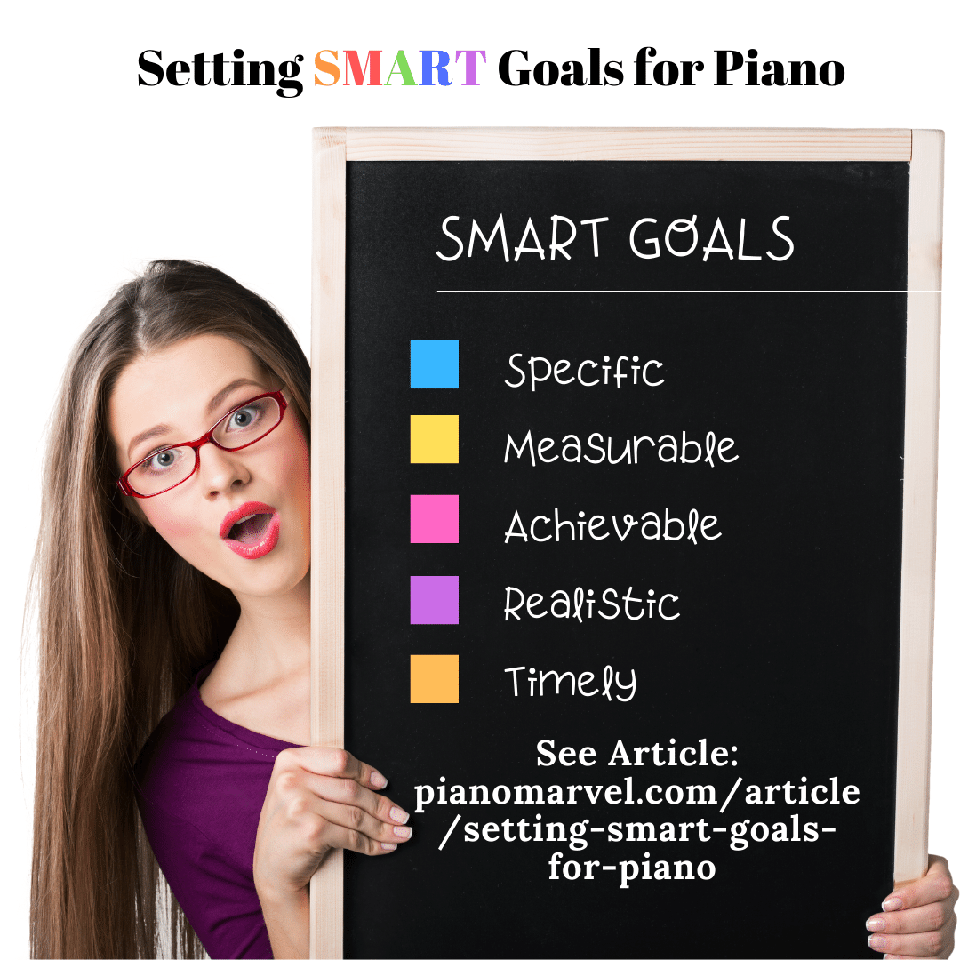 Setting SMART Goals for Piano
