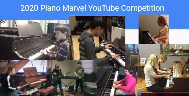 Annual Piano Marvel YouTube Competition
